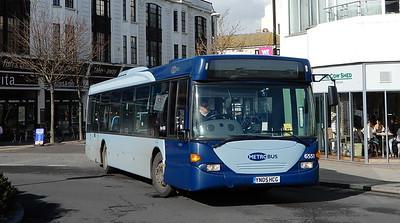 Metrobus 6551 - YN05HCG - Worthing (Marine Parade)