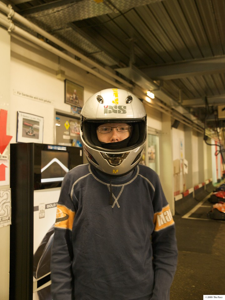 Sunday 22nd Nov 2009 - Birthday boy! - This week Jason celebrated his birthday with a day at the go karting track.