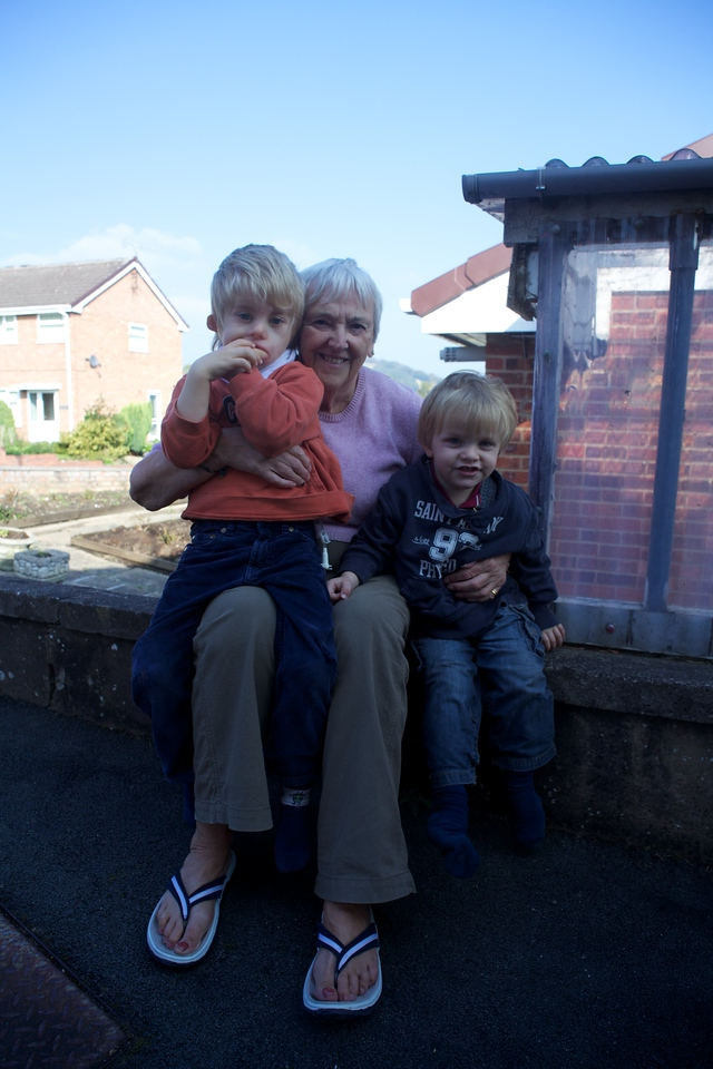 Monday 18th October 2010 - We of course visited nanan