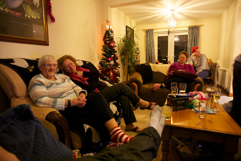Thursday 30th December 2010 - Wii spectators - some are getting bored