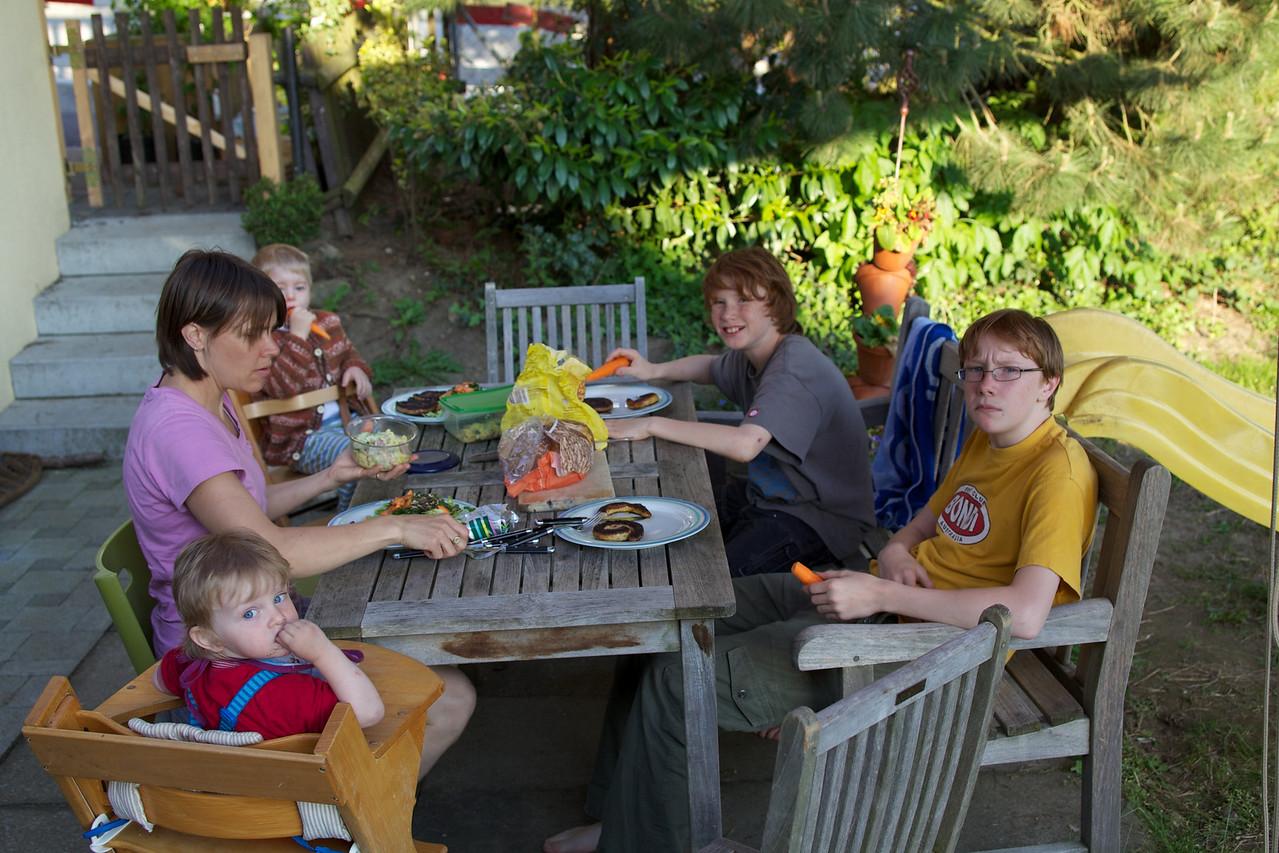 Sunday 30th May 2010 - BBQ at home