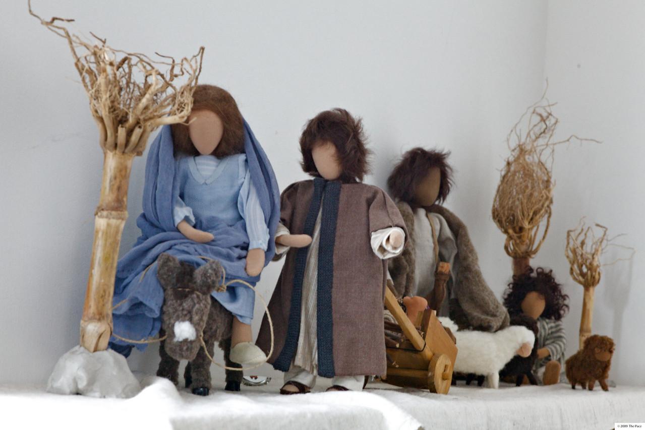 Monday 11th Jan 2010 - Kerstin's nativity scene
