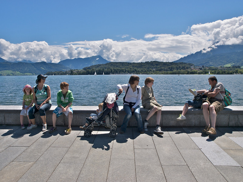 Sunday 1st August 2010 - Lakeside in lucern