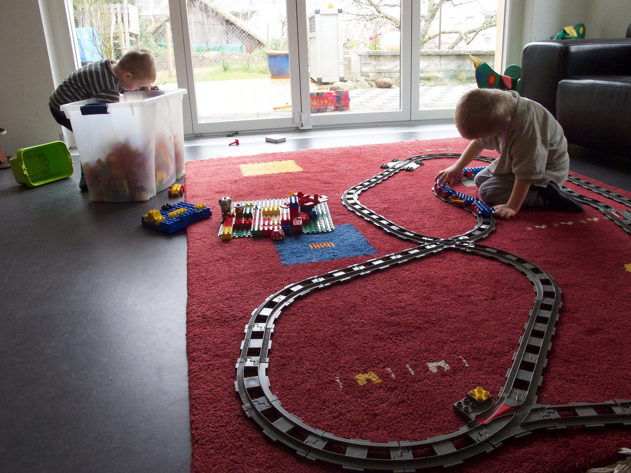 Tuesday 23rd November 2010 - Cai plays at being the fat controller