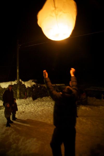 Thursday 30th December 2010 - Come back lantern