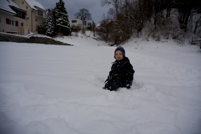Sunday 19th December 2010 - Luc loves the snow
