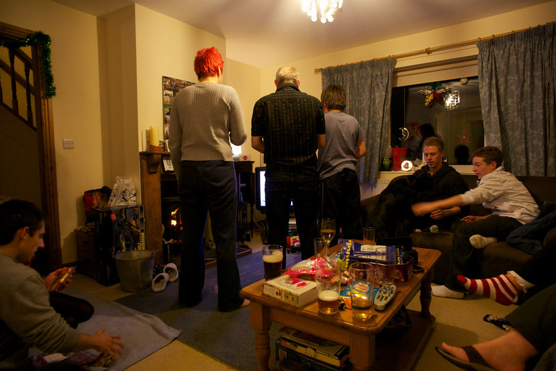 Thursday 30th December 2010 - Christmas Wii time