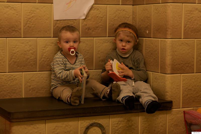 Monday 11th Jan 2010 - Two little boys