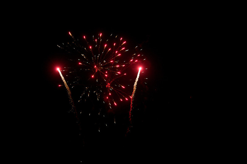 Monday 8th Aug 2011 - August the 1st is always celebrated with a bang