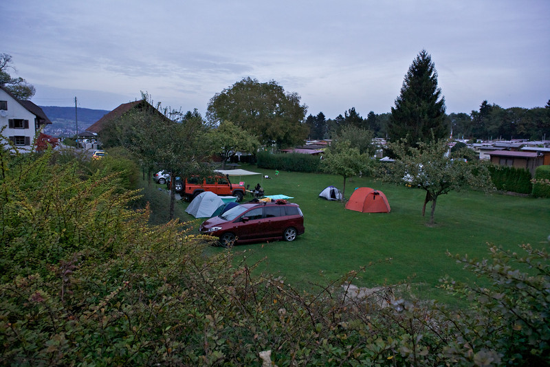 Sunday 4th Sept 2011 - It was a great campsite and fortunately quiet