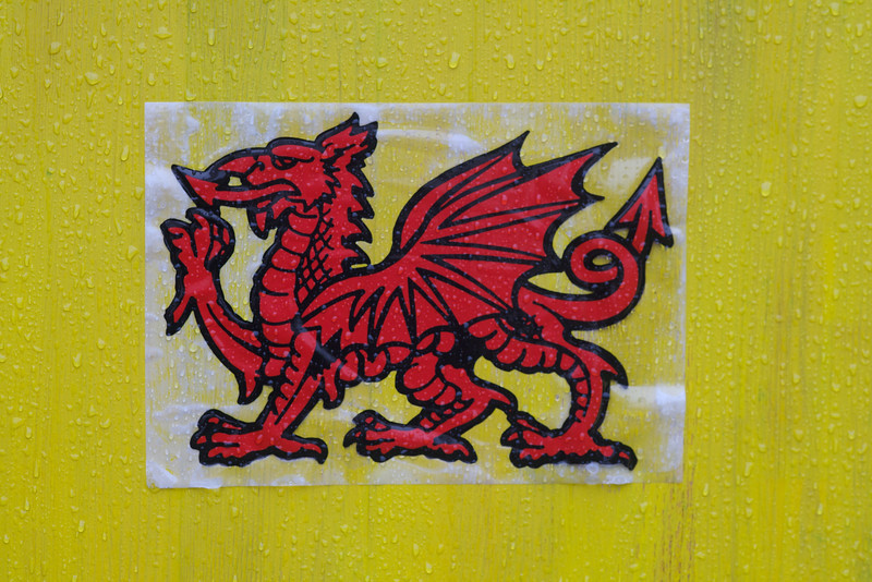 Sunday 18th Sept 2011 - Yahaa come on Wales