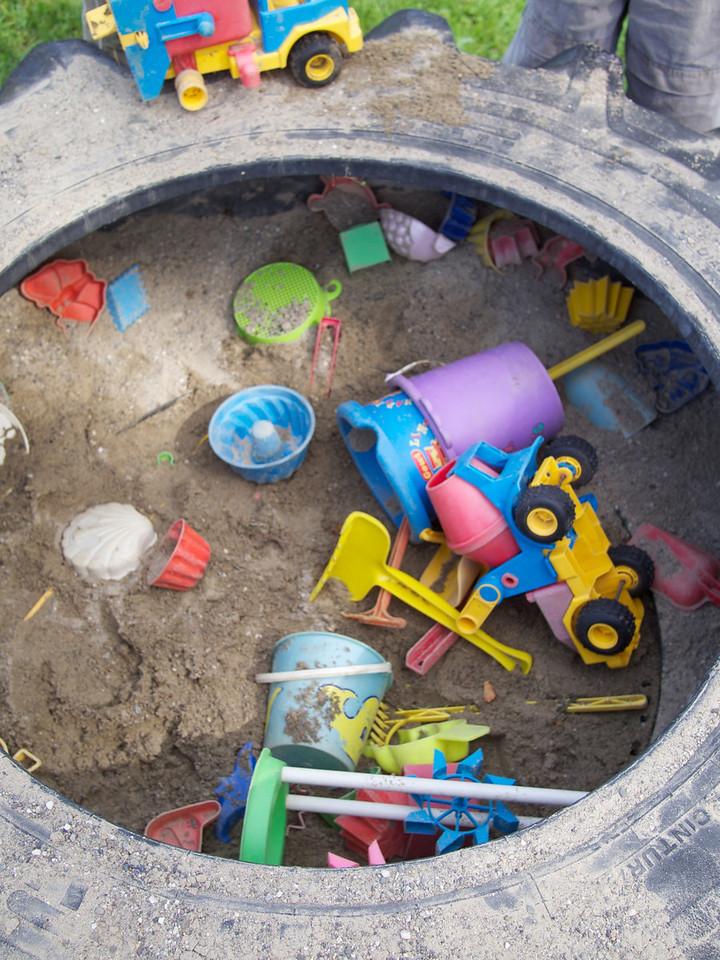 Sunday 4th Sept 2011 - The sandpit