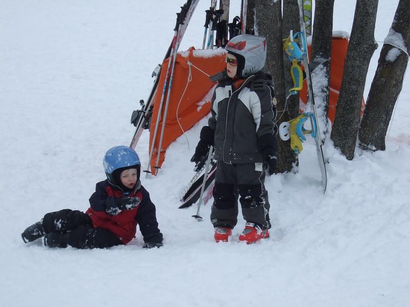10th Jan 2012 - Team Snow eating