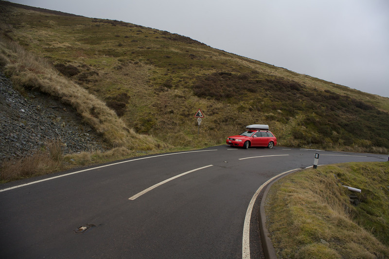 Sunday 19th Feb 2012 - Roads made for the Audi