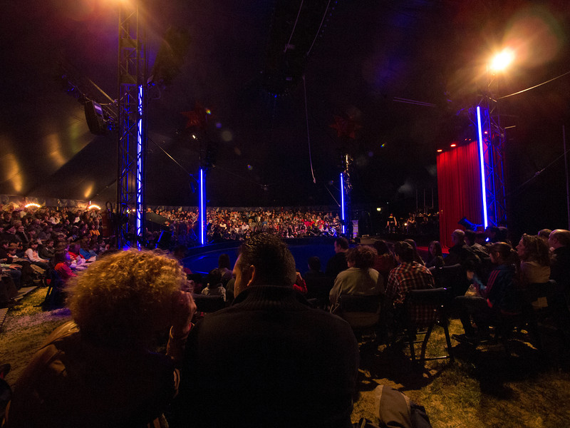 Tuesday 10th April 2012 - A full house for the circus