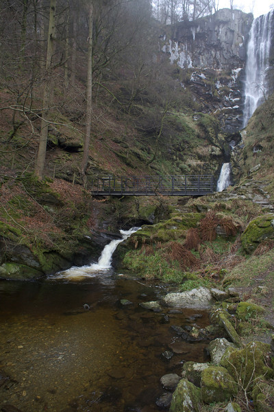 Sunday 19th Feb 2012 - another view of the falls in mid wales - I am deliberately not naming them and not because I can't spell it ;-)