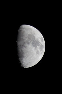 Sunday 4th Mar 2012 - The moon was very bright