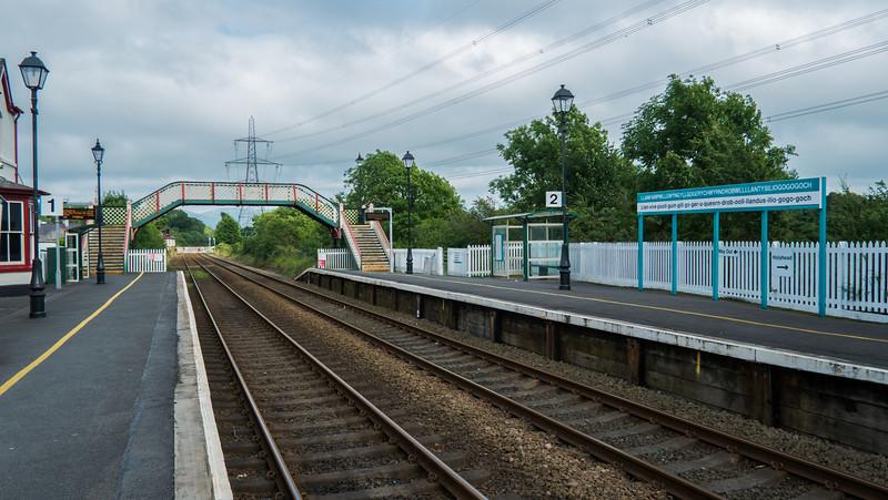 Monday 30th July - llanfairpwllgwyngyllgogerychwyrndrobwllllantysiliogogogoch train station