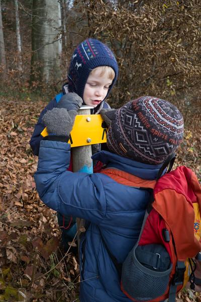 Sunday 25th November 2012 - Which way do go?