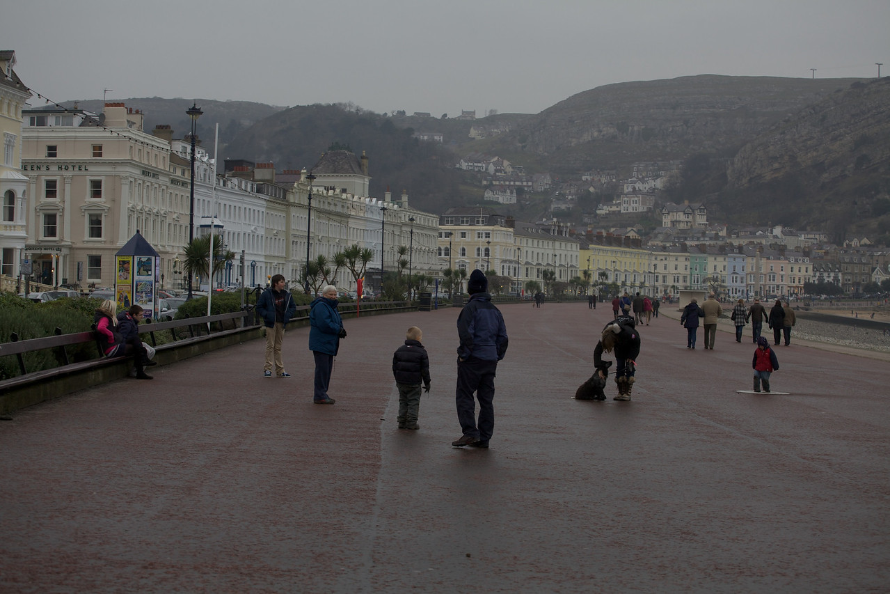 Sunday 19th Feb 2012 - The Prom in Llandudno