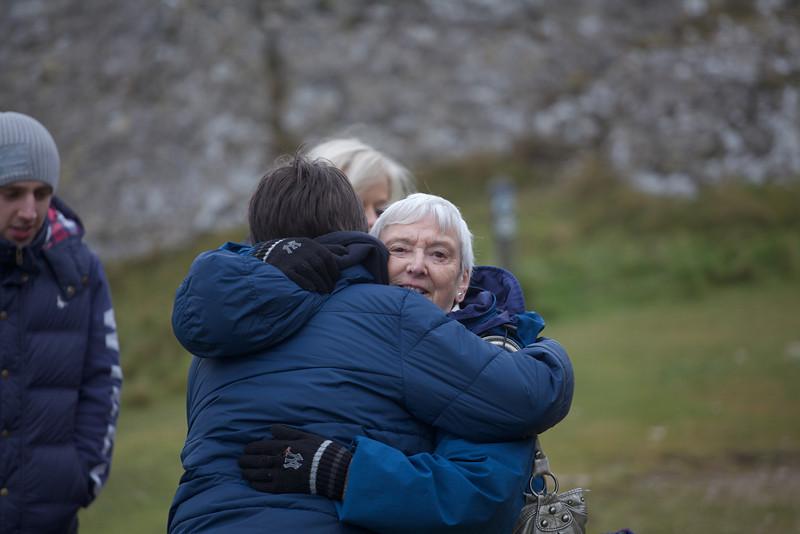 Sunday 19th Feb 2012 - Tyler gets a hug