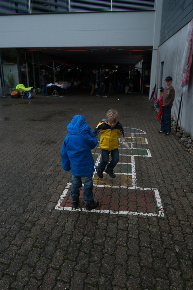 11th November - Playing Hopscotch
