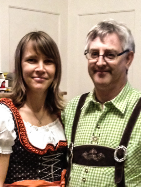 Sunday 16th Sept 2012 - Getting Ready for Oktoberfest