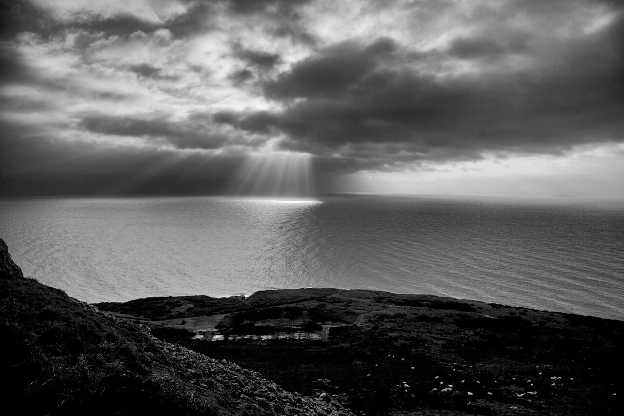Sunday 19th Feb 2012 - Driving around the Great Orme we were treated to this fantastic view