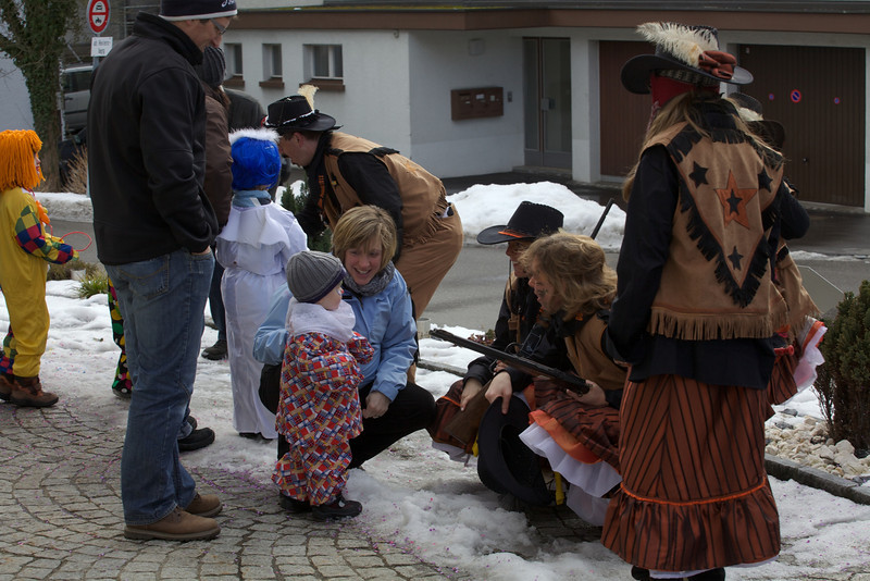 Sunday 26th Feb 2012 - Fasnacht 2012 Holding children up a gunpoint what are the swiss like