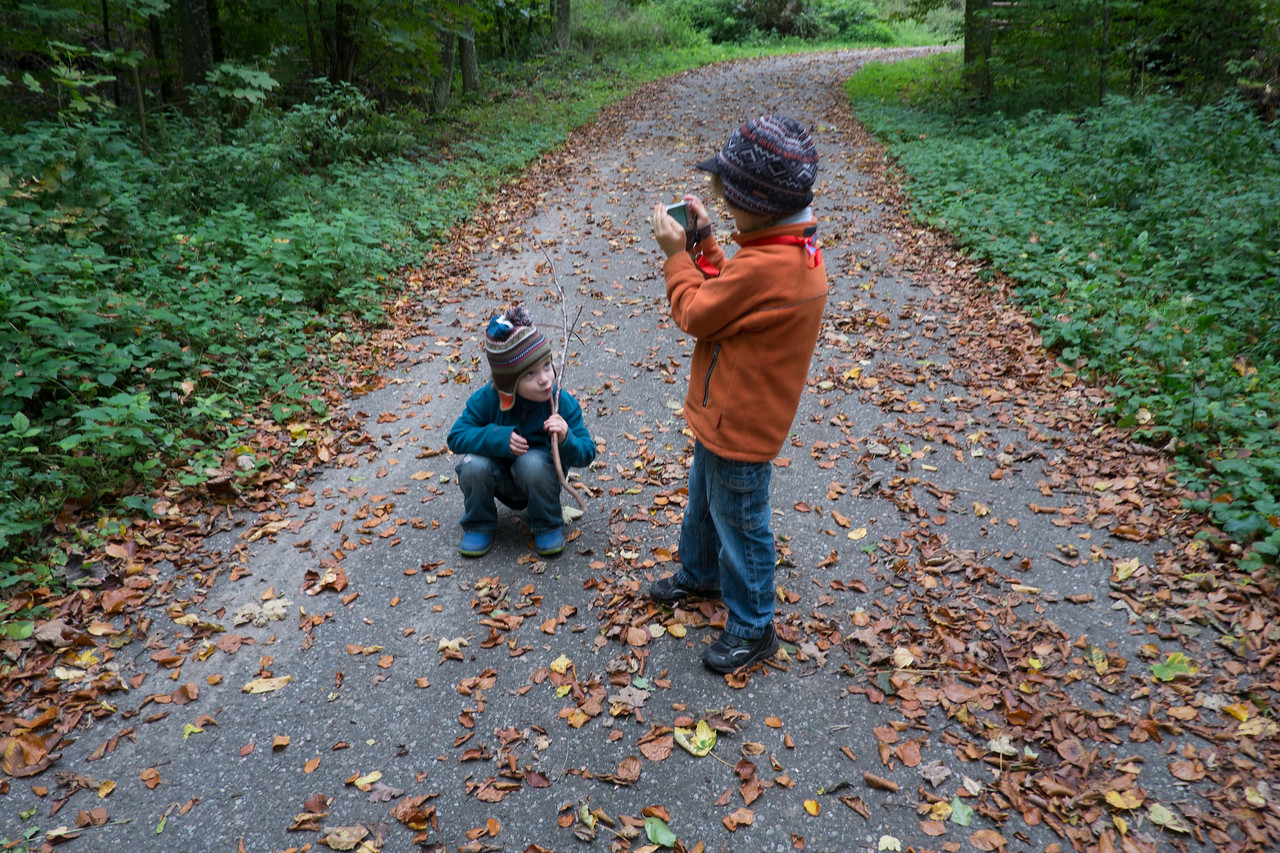 Sunday 14th October 2012 - A photographer in the making ?