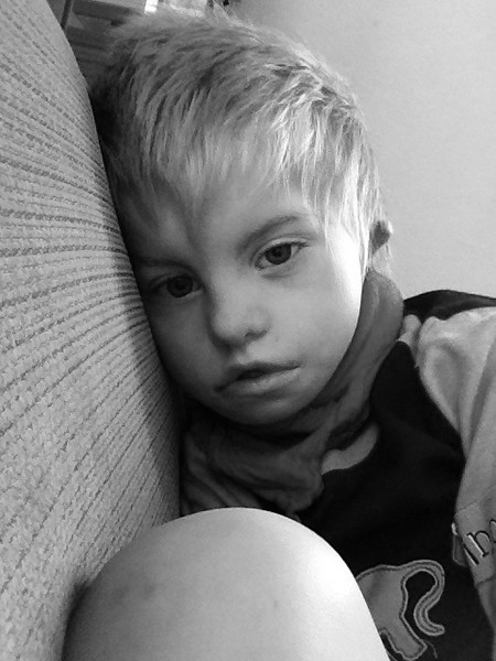 Sunday 22nd April 2012 - Cai feeling sorry for himself
