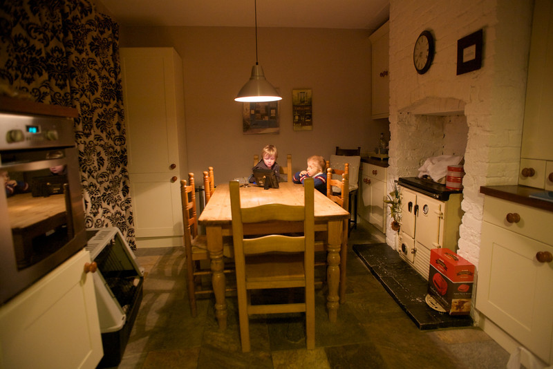 Sunday 19th Feb 2012 - The holiday house had a nice big kitchen