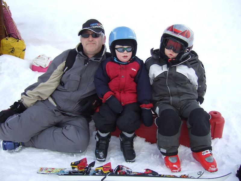 10th Jan 2012 -  Team charge Ski