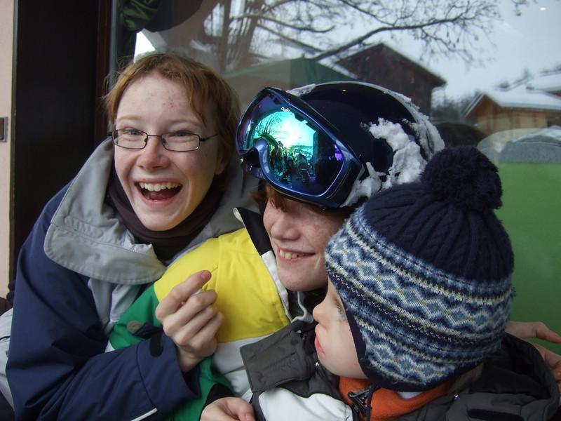 10th Jan 2012 - Team silly grins
