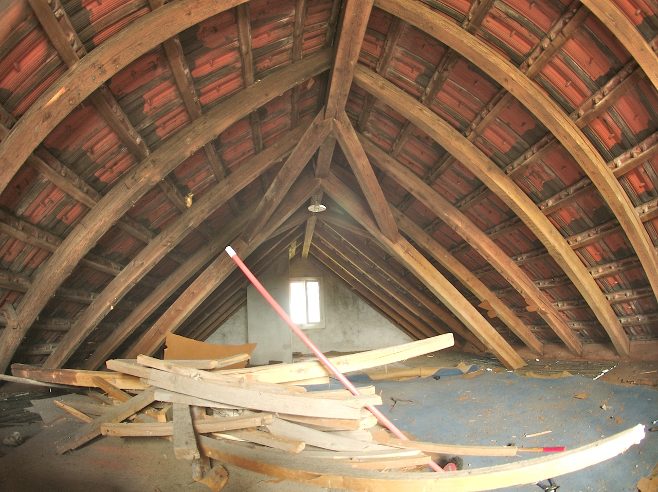 Monday 19th May 2008 - remember what our old attic used to look like