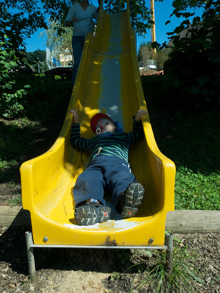 Tuesday 26th Aug 2008 - Cai hits rock bottom - of the slide that is