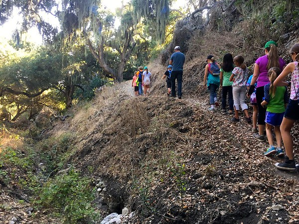 Girl Scouts go to the Pismo Preserve