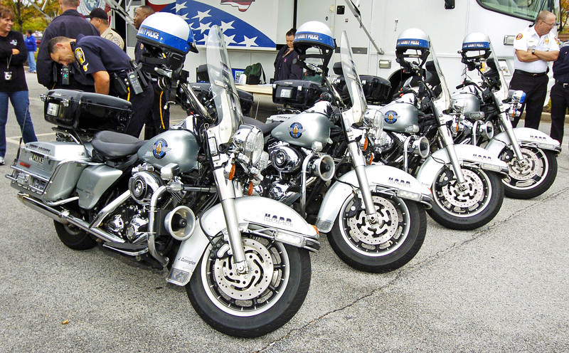 Henry County National Night Out with the Henry County Police Departments Motorcycle Unit.<br /> PHOTO BY JOE LIVINGSTON/STAFF