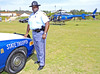Georgia State Patrol Trooper S.A.BLACK from the Safety Education Unit was on hand to talk to students about driving and other important driving issues facing teenagers.
