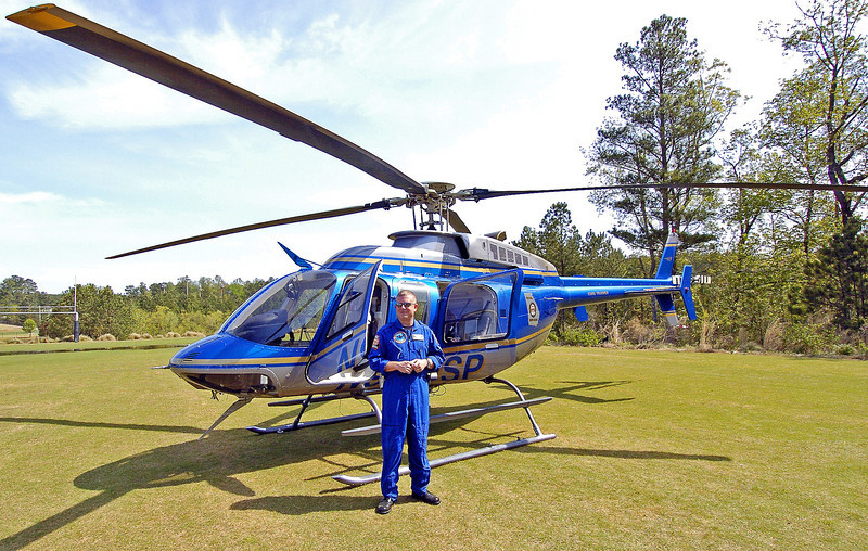 GEORGIA STATE PATROL HELICOPTER - PILOT: DAVID DOEHLA