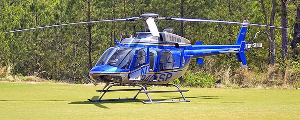 GEORGIA STATE PATROL  HELICOPTER - PILOT DAVID DOEHLA