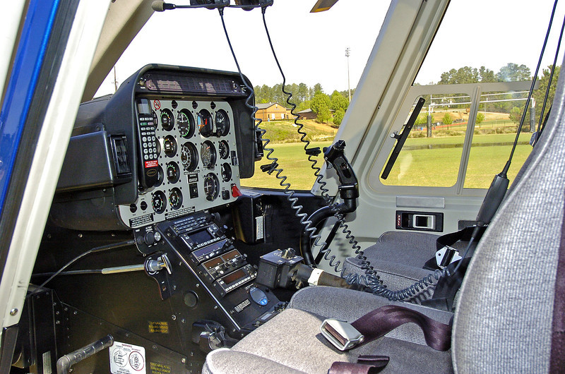 GEORGIA STATE PATROL HELICOPTER