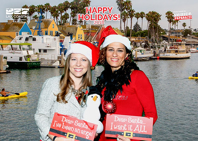 LAX Coastal Chamber of Commerce's Holiday Party at the California Yacht Club.    @laxcoastal #laxcoastal  #yourlocalchamber  Photo booth by VenicePaparazzi.com