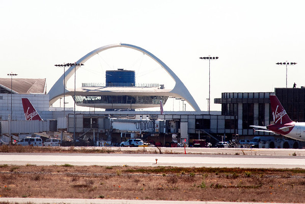 Shooting at LAX international Airport