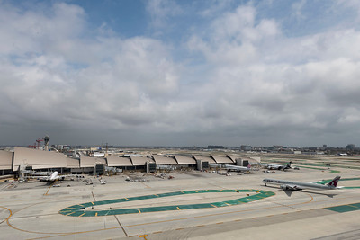 Los Angeles International Airport (LAX   LAWA) - Tom Bradley International Terminal - Midfield Satellite Concourse (MSC) on April 13, 2021. (Photo By Joshua Sudock)