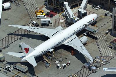 Air China Boeing 777-39L(ER) B-2037 5-17-16 4