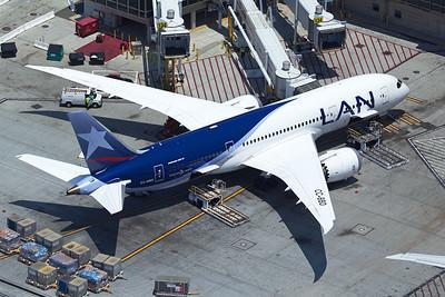 LAN Airlines Boeing 787-8 CC-BBD 5-17-16 2