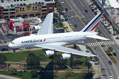 Air France Airbus A380-861 F-HPJC 5-17-16