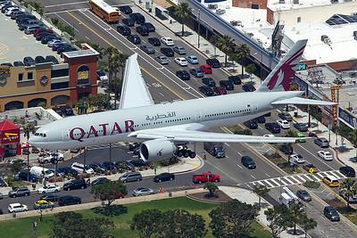 Qatar Airways Boeing 777-2DZLR A7-BBE 5-17-16