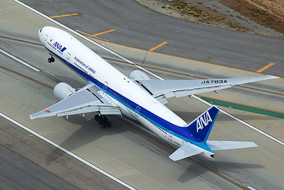 All Nippon Airlines Boeing 777-381ER JA783A 4-25-17 2